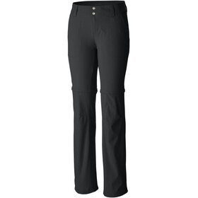 Columbia Saturday Trail II Convertible Pantaloni normale Donna, black